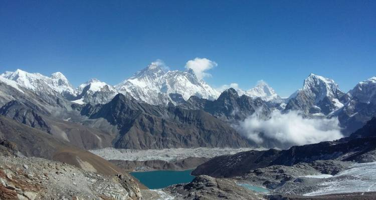 Everest Base Camp, Cho-la and Renjo-la Pass Trek